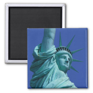 Statue of Liberty, New York, USA 8 2 Inch Square Magnet