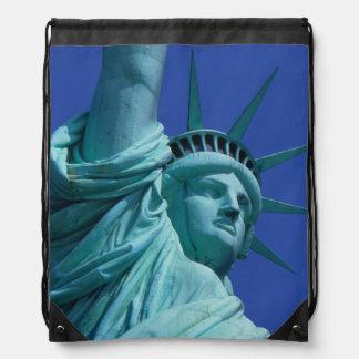 Statue of Liberty, New York, USA 8 Drawstring Bag