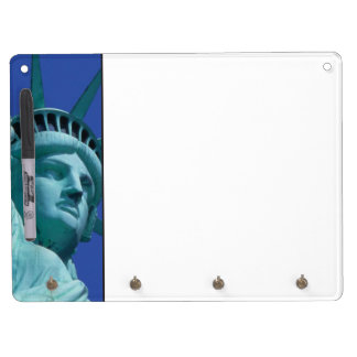Statue of Liberty, New York, USA 8 Dry Erase Board With Keychain Holder