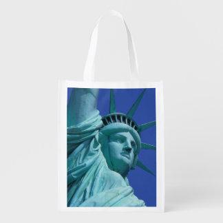 Statue of Liberty, New York, USA 8 Grocery Bag