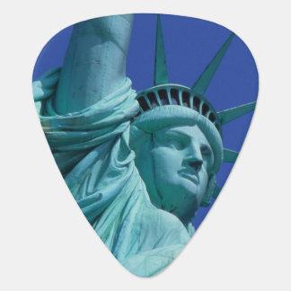 Statue of Liberty, New York, USA 8 Guitar Pick