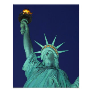 Statue of Liberty, New York, USA 8 Photo Print