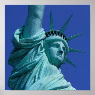 Statue of Liberty, New York, USA 8 Poster