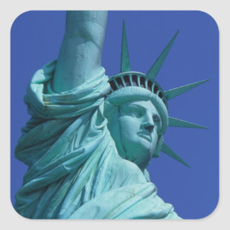Statue of Liberty, New York, USA 8 Square Sticker