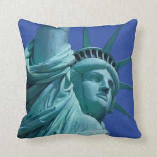 Statue of Liberty, New York, USA 8 Throw Pillow