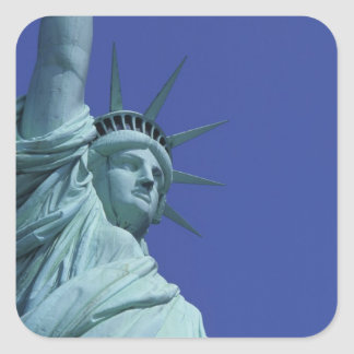Statue of Liberty, New York, USA 9 Square Sticker