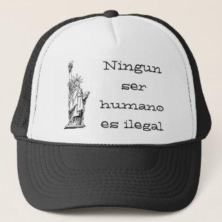 Statue of Liberty, Ningun ser humano es ilegal Trucker Hat