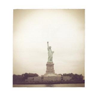 Statue of Liberty Memo Note Pad