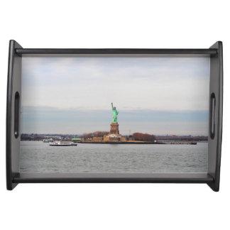 Statue of Liberty - NY New York Food Trays