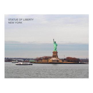 Statue of Liberty - NY New York Postcard