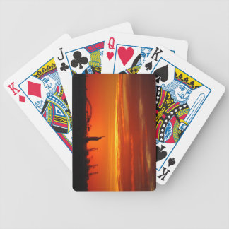 Statue of Liberty NYC at Sunset - Playing Cards