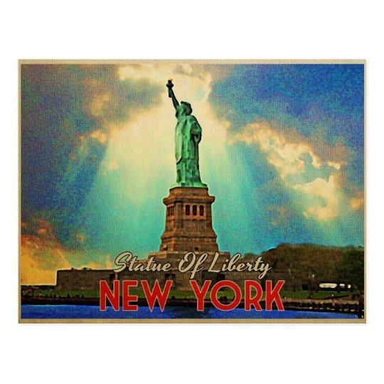 Statue Of Liberty NYC Postcard