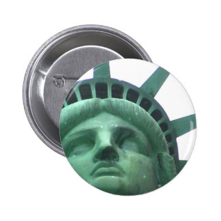 Statue of Liberty Oil Effect 2 Inch Round Button