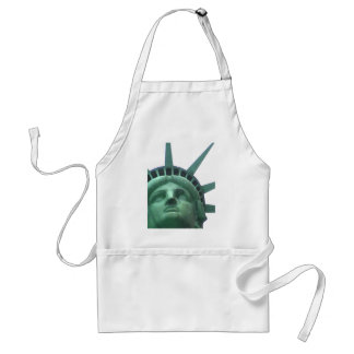 Statue of Liberty Oil Effect Adult Apron