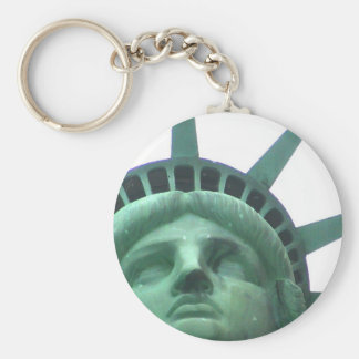 Statue of Liberty Oil Effect Key Chains