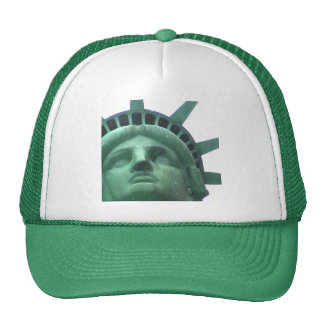 Statue of Liberty Oil Effect Trucker Hat