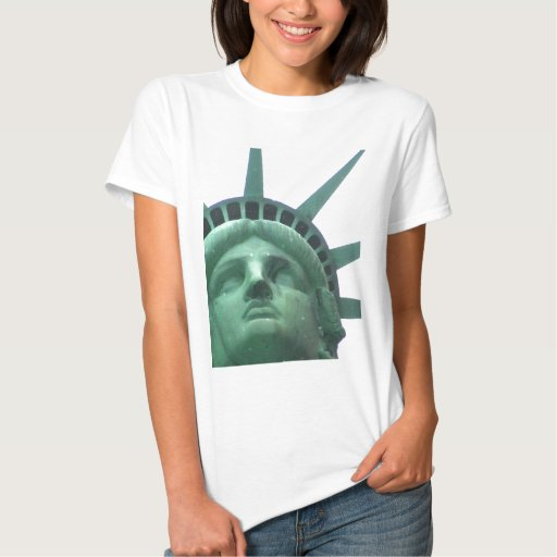 Statue of Liberty Oil Effect Tshirt