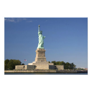 Statue of Liberty on Liberty Island in New 2 Photo Print