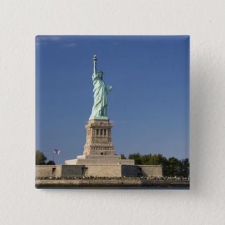 Statue of Liberty on Liberty Island in New 2 Pinback Button