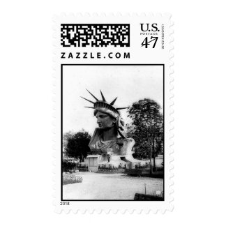 Statue of Liberty Paris France Postage