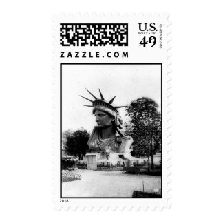 Statue of Liberty Paris France Stamp