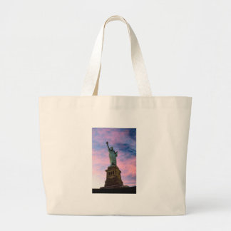 Statue of Liberty Pastel Sky Tote Bag