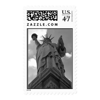 Statue of Liberty: patriotic stamp