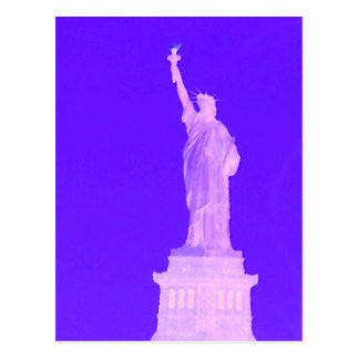 Statue of Liberty Patriotic USA America July 4th Postcard