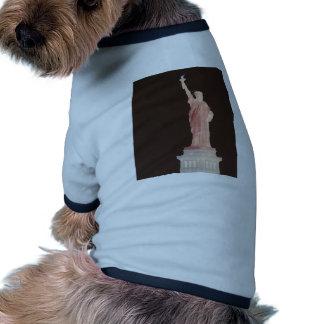 Statue of Liberty - Patriotic USA Designer Stuff Dog Shirt