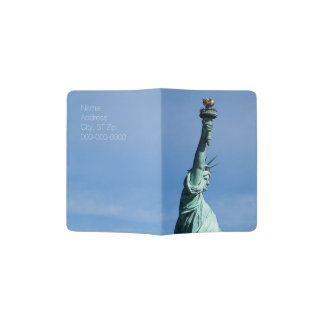 Statue of Liberty, Personalized Passport Cover