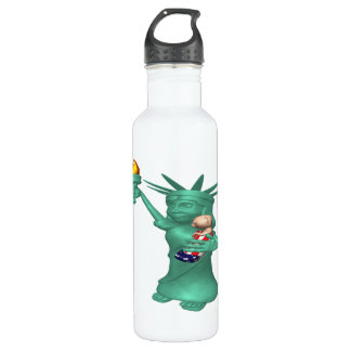 Statue Of Liberty 24oz Water Bottle