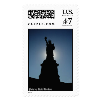 Statue of Liberty, Photo by: Lizzie Morrison Postage