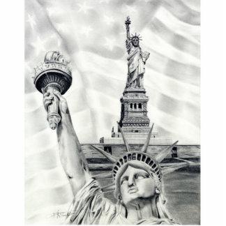 Statue of Liberty Photo Sculpture