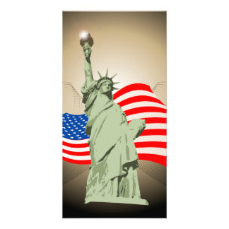 Statue of Liberty Photo Greeting Card