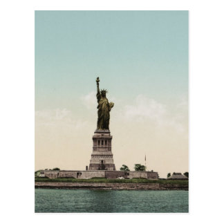 Statue of Liberty photocrom Postcard