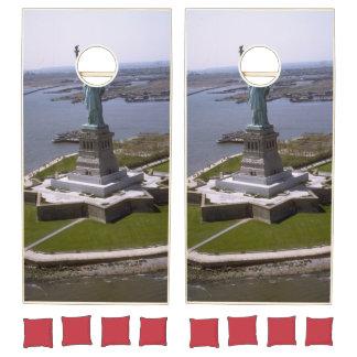 Statue of Liberty Photograph - 7 Cornhole Set