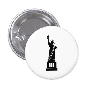 Statue of Liberty Pictogram Button