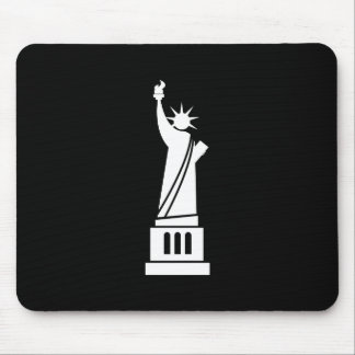 Statue of Liberty Pictogram Mousepad