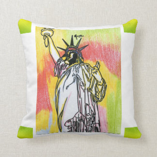 statue of liberty pillow
