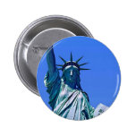 Statue of Liberty Pinback Buttons