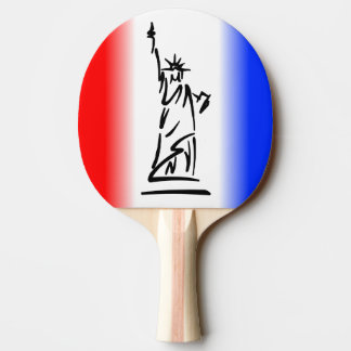 Statue of Liberty Ping Pong Paddle