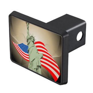 Statue of Liberty Trailer Hitch Cover