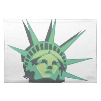 Statue Of Liberty Cloth Placemat