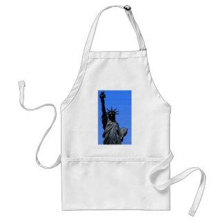 Statue of Liberty Pop Art Adult Apron