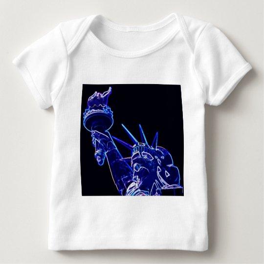Statue of Liberty Pop Art Baby T-Shirt