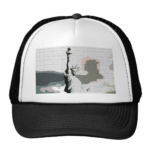 Statue of Liberty Pop Art Trucker Hat