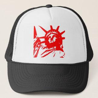 Statue of Liberty Pop Art USA Symbol Trucker Hat