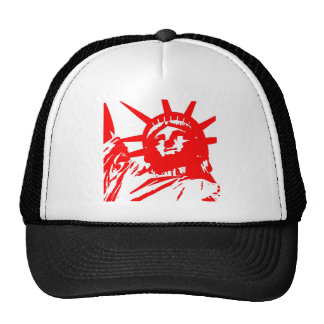 Statue of Liberty Pop Art USA Symbol Trucker Hat