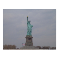Statue of Liberty Post Card