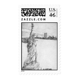 """Statue of Liberty"" Postage"